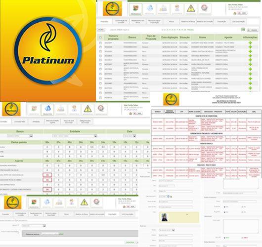 Print do projeto Platinum - Sistema de agentes