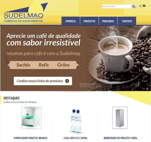Print do projeto Sudelmaq - Comércio de equipamentos