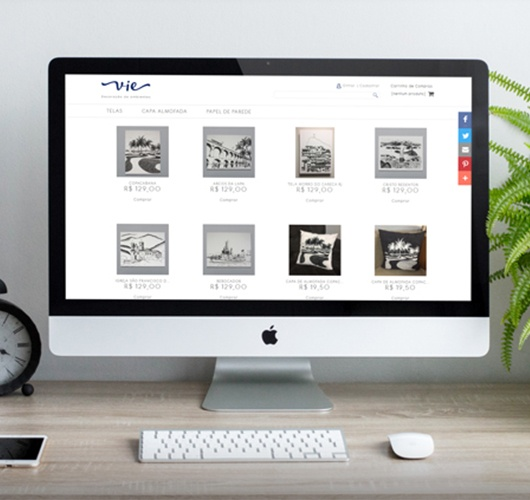 Print do projeto Vie Decoração de ambientes
